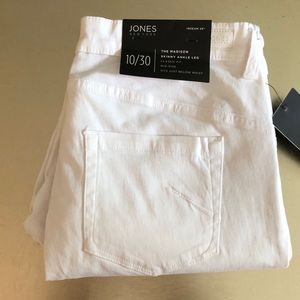 NWT Tags White Jeans by Jones New York